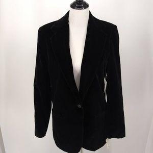 New Rafaella Size 10 Retro/Vintage Black Velvet